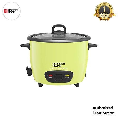 WH-RC-700 Wonder Home 1.8 Liter Automatic Rice Cooker (Yellow)
