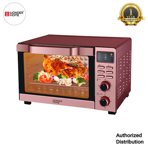 WH-O-35DCL Wonder Home Digital Display Electric Oven 35 Liter 1500W