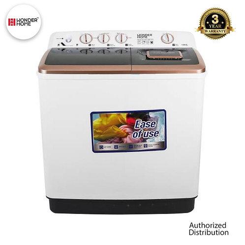 WH-WM-S95 Wonder Home Semi Automatic Twin Tub Washing Machine 9.5 KG