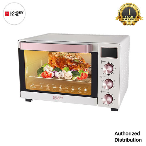 WH-O-50D Wonder Home LCD Display Electric Oven 50 Liter 1700W