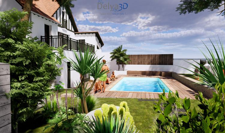 Vue vers piscine et villa.jpg