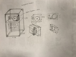 Sound Station - Initial Idea for a Telephone Booth across campus