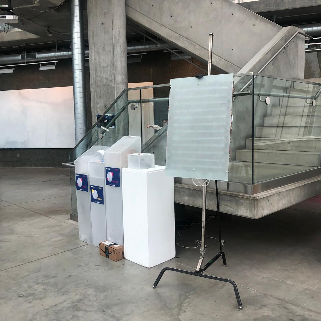 Final Installation in Brown Building