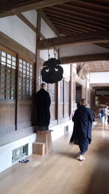 Zen monks at Eiheiji Monastery