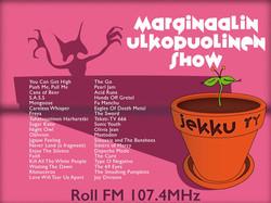Marginaalin ulkopuolinen show