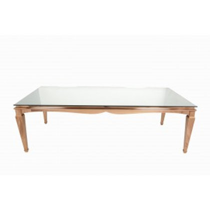 4' x 8' Rose Gold Washington Table
