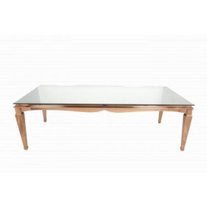 4' x 8' Rose Gold Washington Table