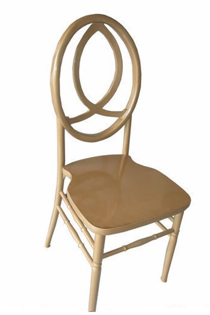 Gold Fishback Chair