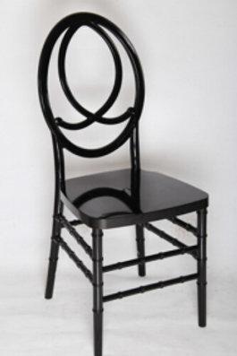 Black Fishback Chair
