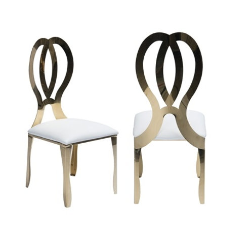 Gold Infinity Chairs