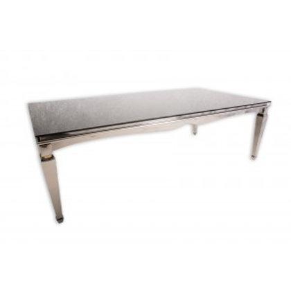4' x 8' Chrome Washington Table