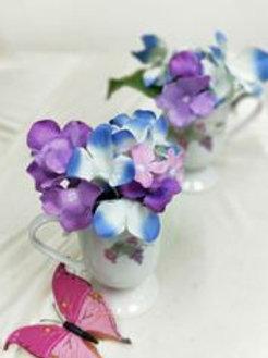 Artificial Blue Purple Hydrangea