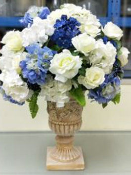 Artificial Flower with Artistic Vase