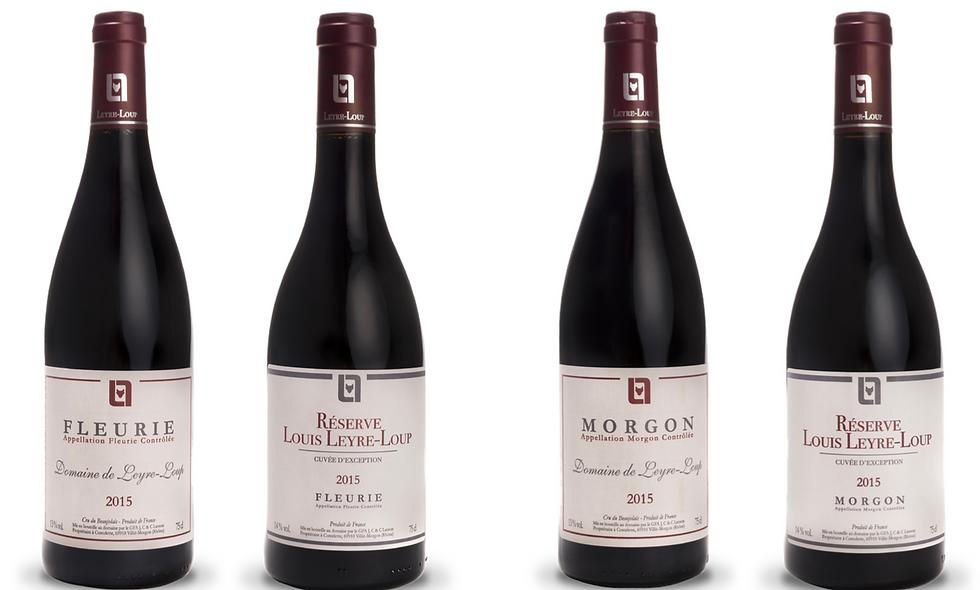 Smagekasse: Domaine Leyre-Loup, Beaujolais (5 flasker)