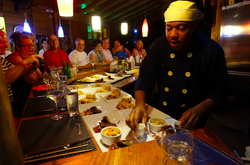 Dining at Zimbali