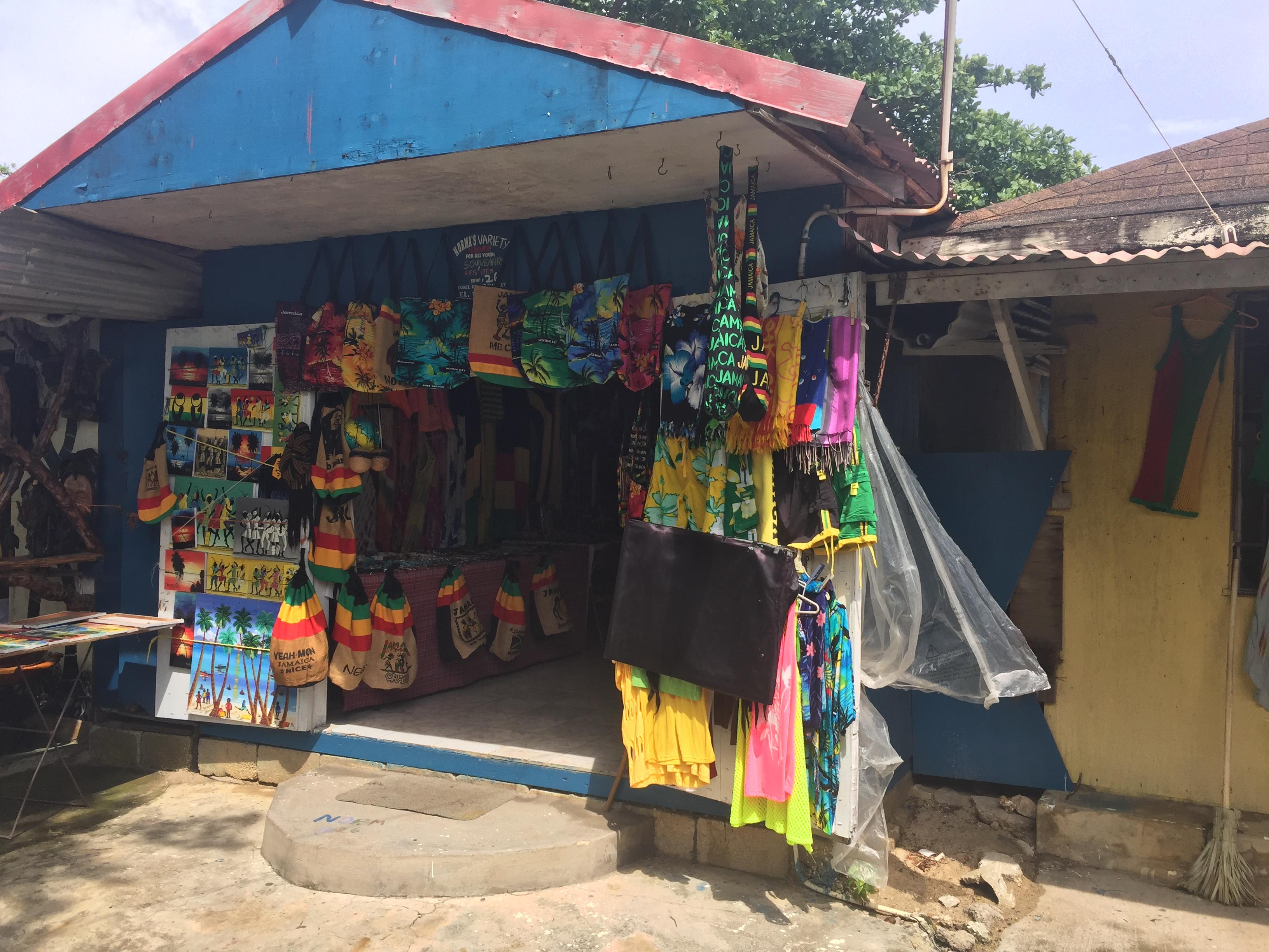 Craft Market in Negril