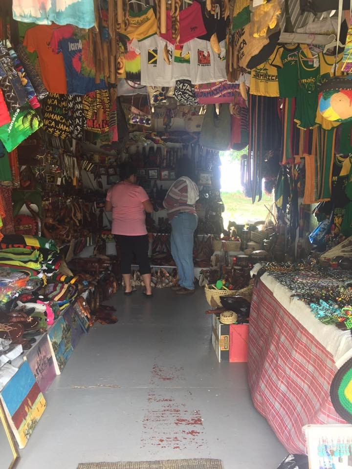 Craft Market in Negril Jamaica