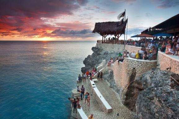 World Famous Ricks Cafe Negril, Jamaica