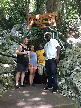 Roaring River Cave in Jamaica