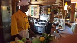 Food Preparation at Zimbali