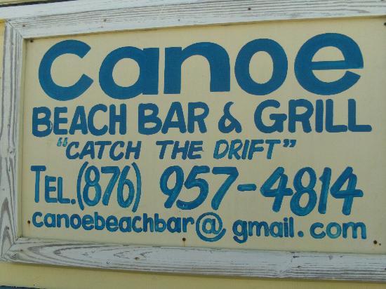canoe beach bar and grill