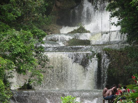 YS Falls Cascades Jamaica