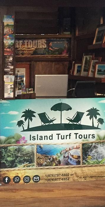 Island Turf Tours office
