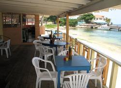 Canoe Beach Bar and Grill Veranda