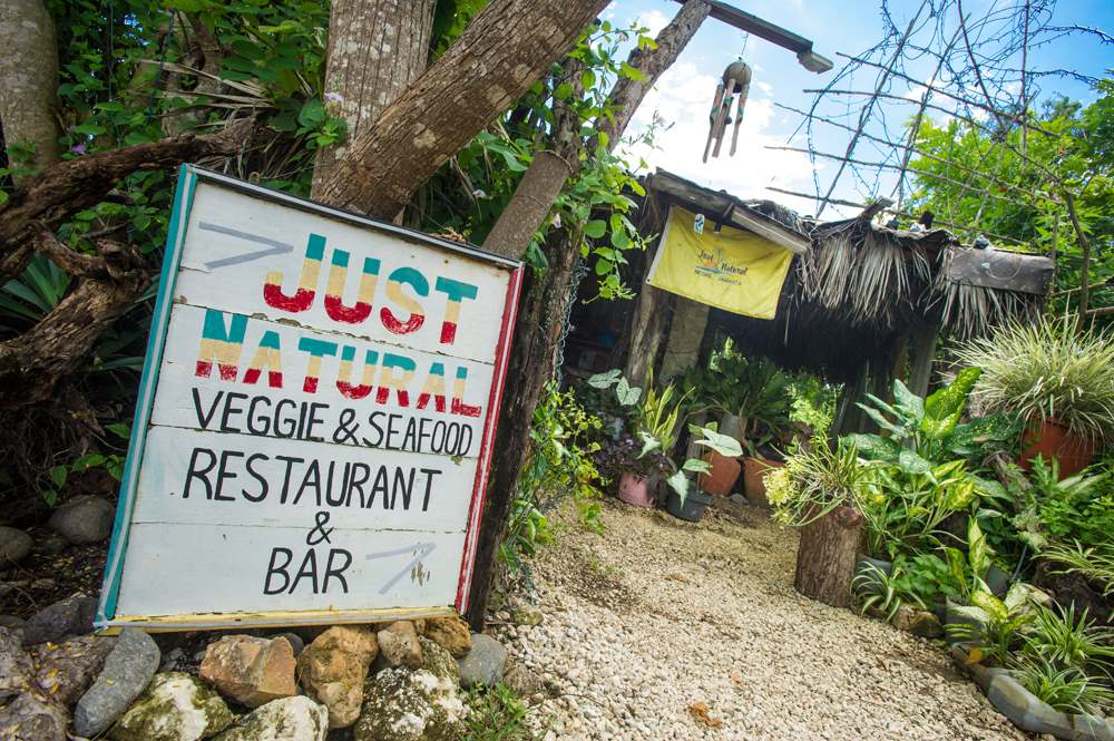 Just Natural Resturant Negril, Jamaica