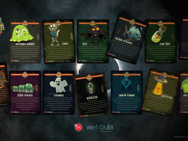 Webbula Email Threat Cards