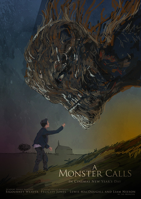 A Monster Calls Alternative Poster