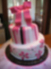 Spice of Life Catering Wedding Cake