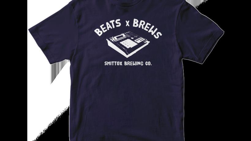 Beats x Brews Tee