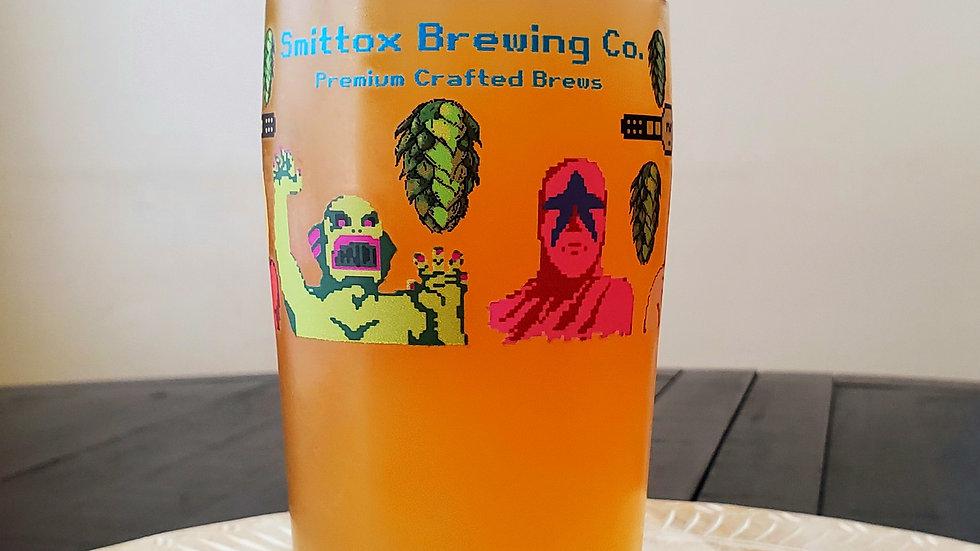 Smittox Retro Wrestling Pint
