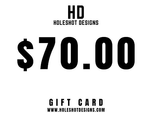 $70.00 Gift Card
