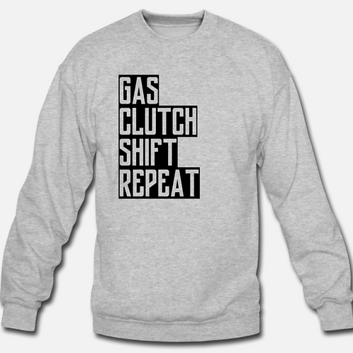 """Gas Clutch Shift Repeat"" Crew"