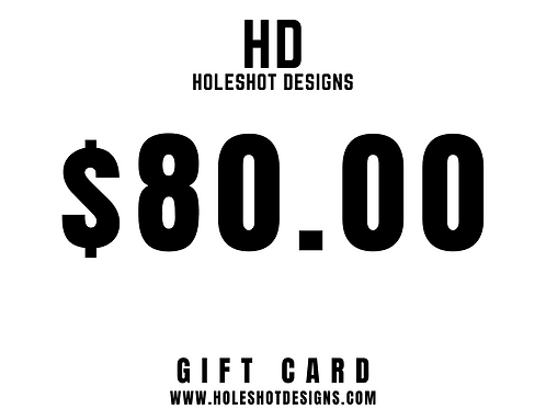 $80.00 Gift Card