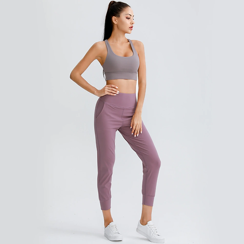 High Waisted Fitness Jogger