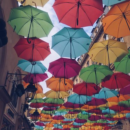 #DescobrindoParis: Umbrella Sky Projet