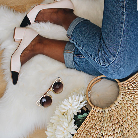 #SpringCrush: Two Tone Shoe
