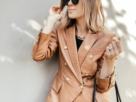 How To Style Leather - 2 Different Looks