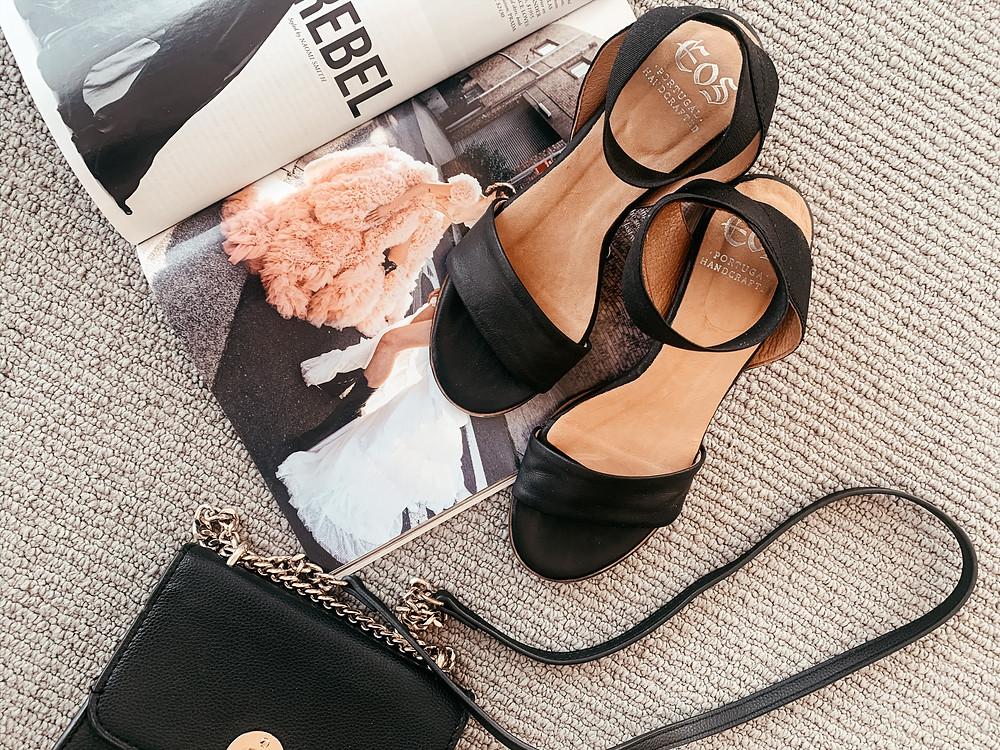 Black Sandal EOS Footwear