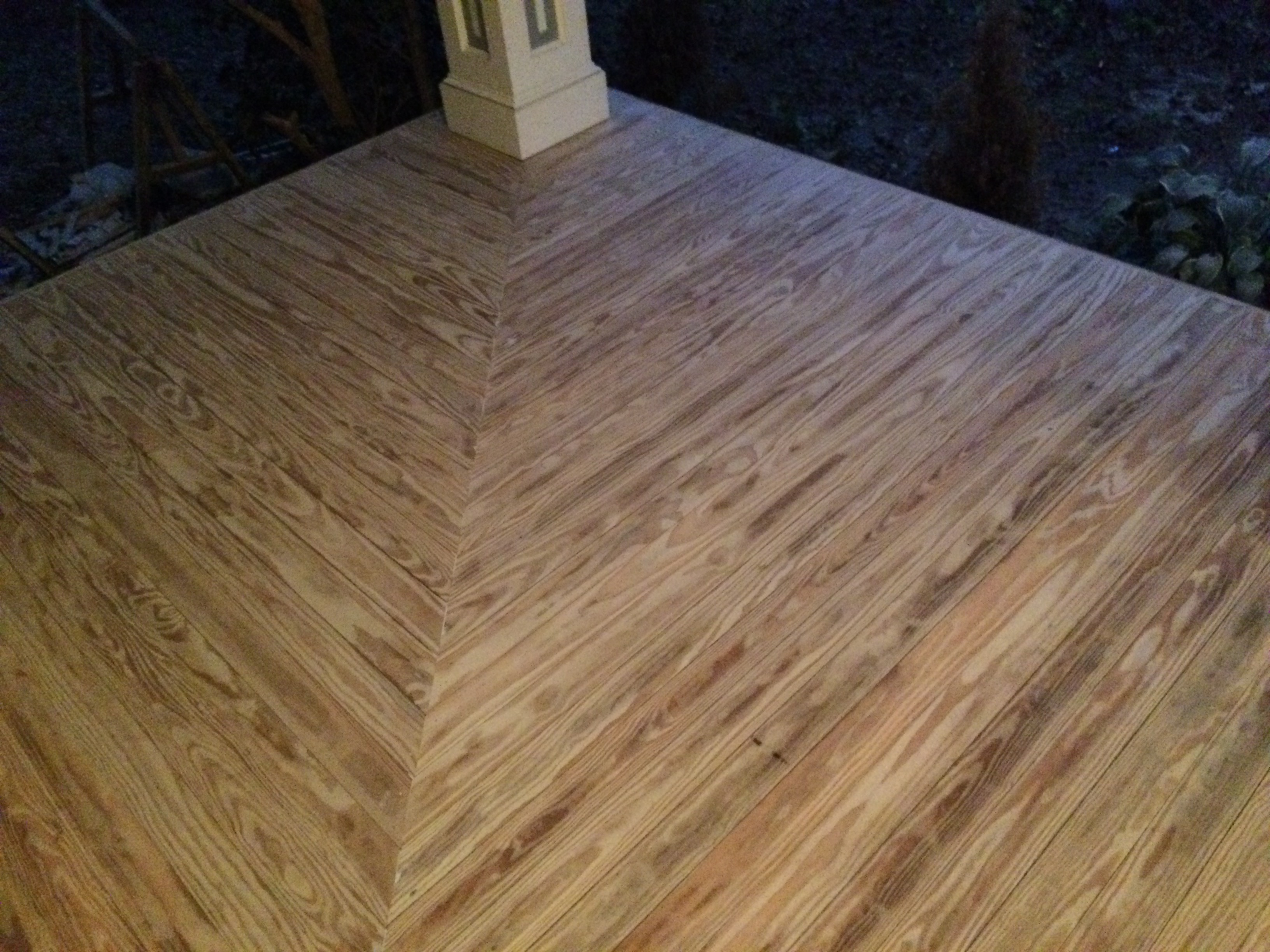 Vintage Pine Porch Flooring