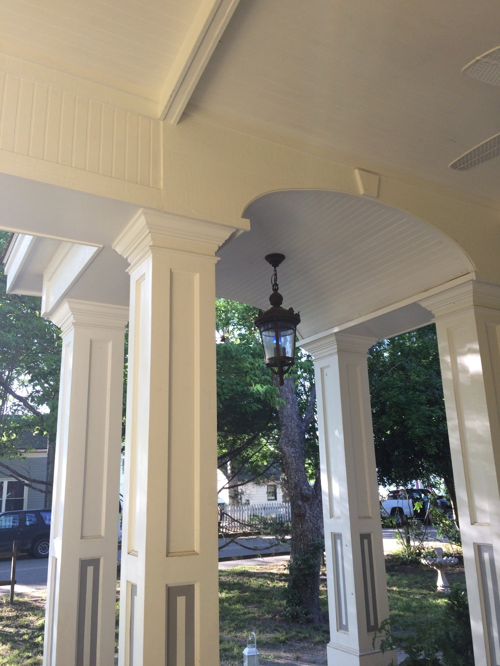 Victorian Style Elliptical Porch