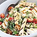 13. Halumi salaatti