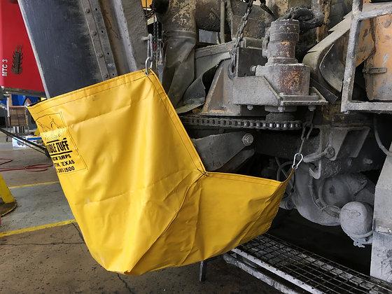 Chute Cover Diaper For Concrete Mixer Trucks