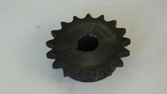 "3/4"" Bore 17 Tooth Sprocket"