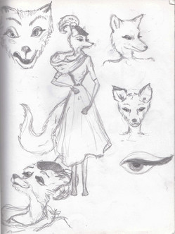 Ideas for the Fox character