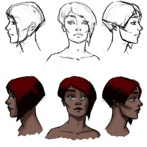Mirra, character concept 1