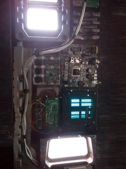 Light panels in YANA's pod